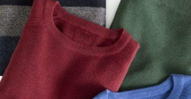 MO lança coleção de camisolas de algodão reciclado