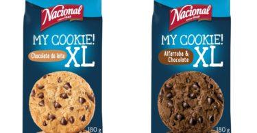 Nacional lança My Cookie em formato XL