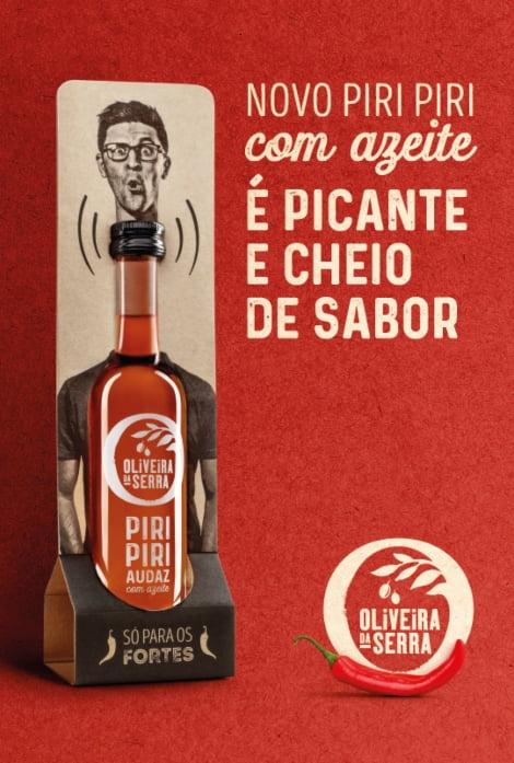 Oliveira da Serra lança gama de piripíris