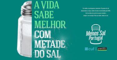 Pingo Doce e CUF querem incentivar os portugueses a reduzir o consumo de sal