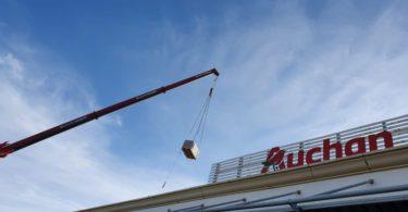 Auchan de Faro instala central fotovoltaica