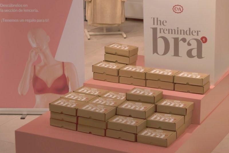 C&A lança campanha para lembrar a importância do autoexame na prevenção do cancro da mama