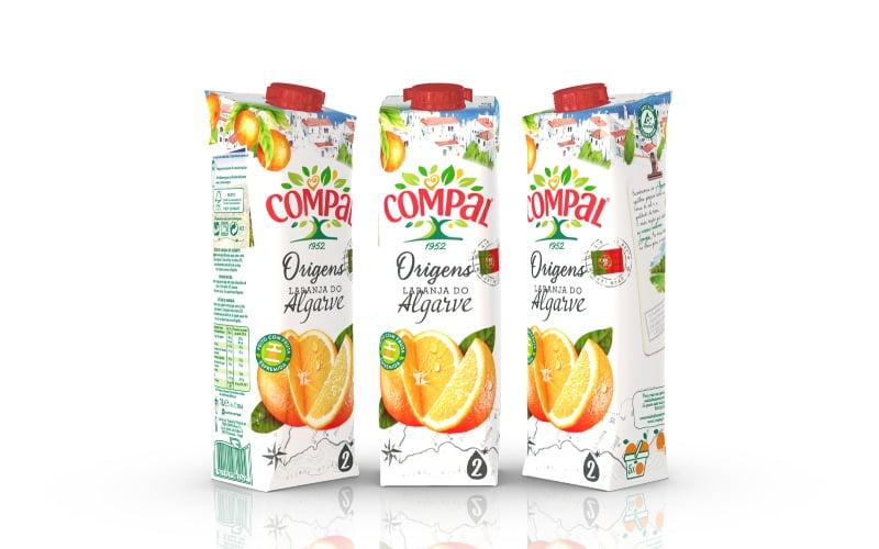 Sumos da Compal têm nova embalagem mais ecológica