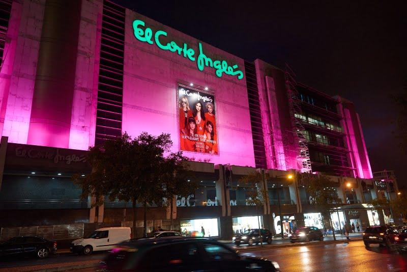 El Corte Inglés veste-se de rosa no Dia Mundial da Prevenção do Cancro da Mama