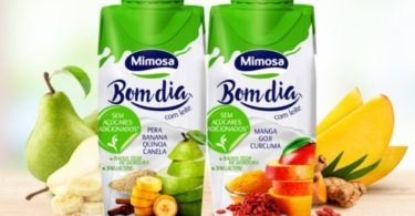 Mimosa lança bebida de leite Mimosa Bom Dia