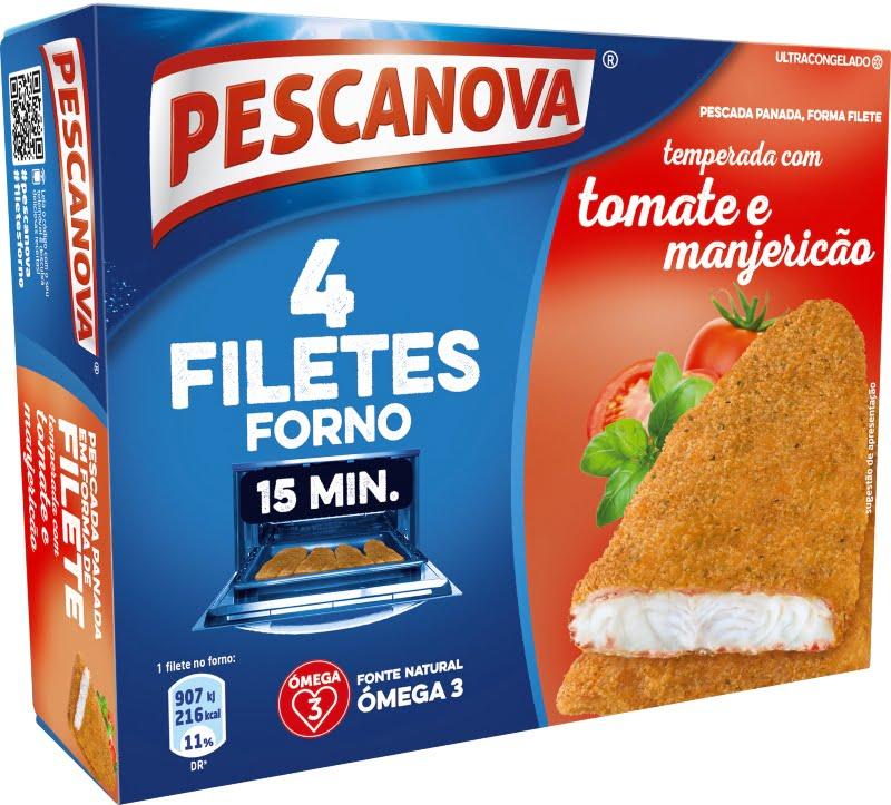Gama de Filetes no Forno da Pescanova tem novas referências