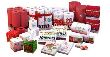 Renova lança coleção de guardanapos natalícios