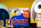 Rolos de cozinha da Renova já têm embalagens de papel