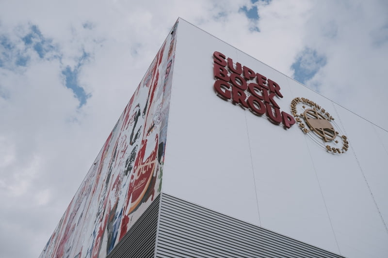 Super Bock Group - fachada