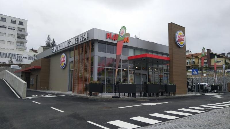 Burger King inaugura restaurante em Paredes