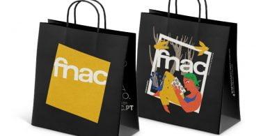 Sacos de papel chegam às lojas Fnac com ilustrações de artistas nacionais