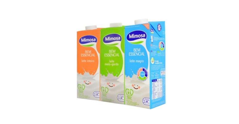 Mimosa passa a ter embalagens 'bio-based'