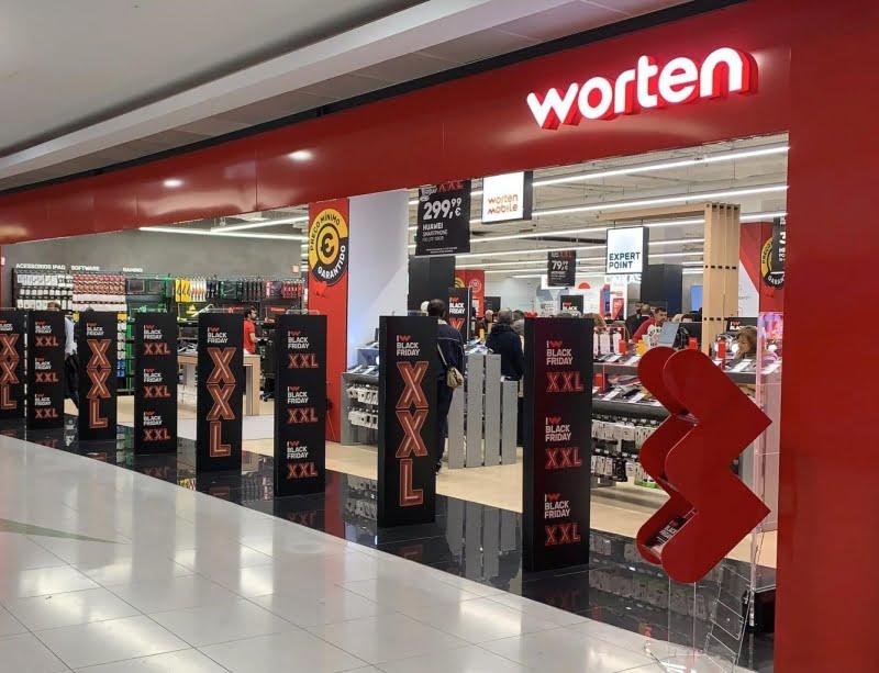 Palácio do Gelo Shopping com loja Worten