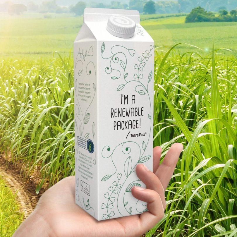 Tetra Pak inova nas embalagens com polímeros de origem vegetal certificados