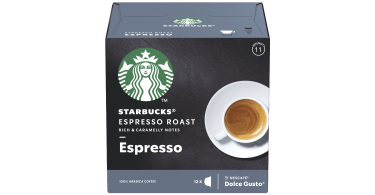 starbucks espresso roast by nescafedolce gusto