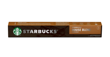 starbucks house blend by nespresso