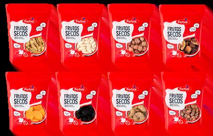 Ferbar apresenta nova gama de frutos secos e nova embalagem