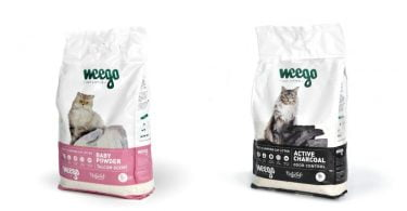 Portuguesa Weego estreia-se no mercado com gama de areia para gatos