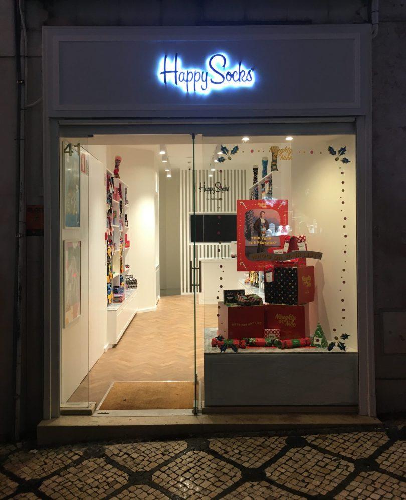 Primeira loja da Happy Socks em Portugal é no Chiado