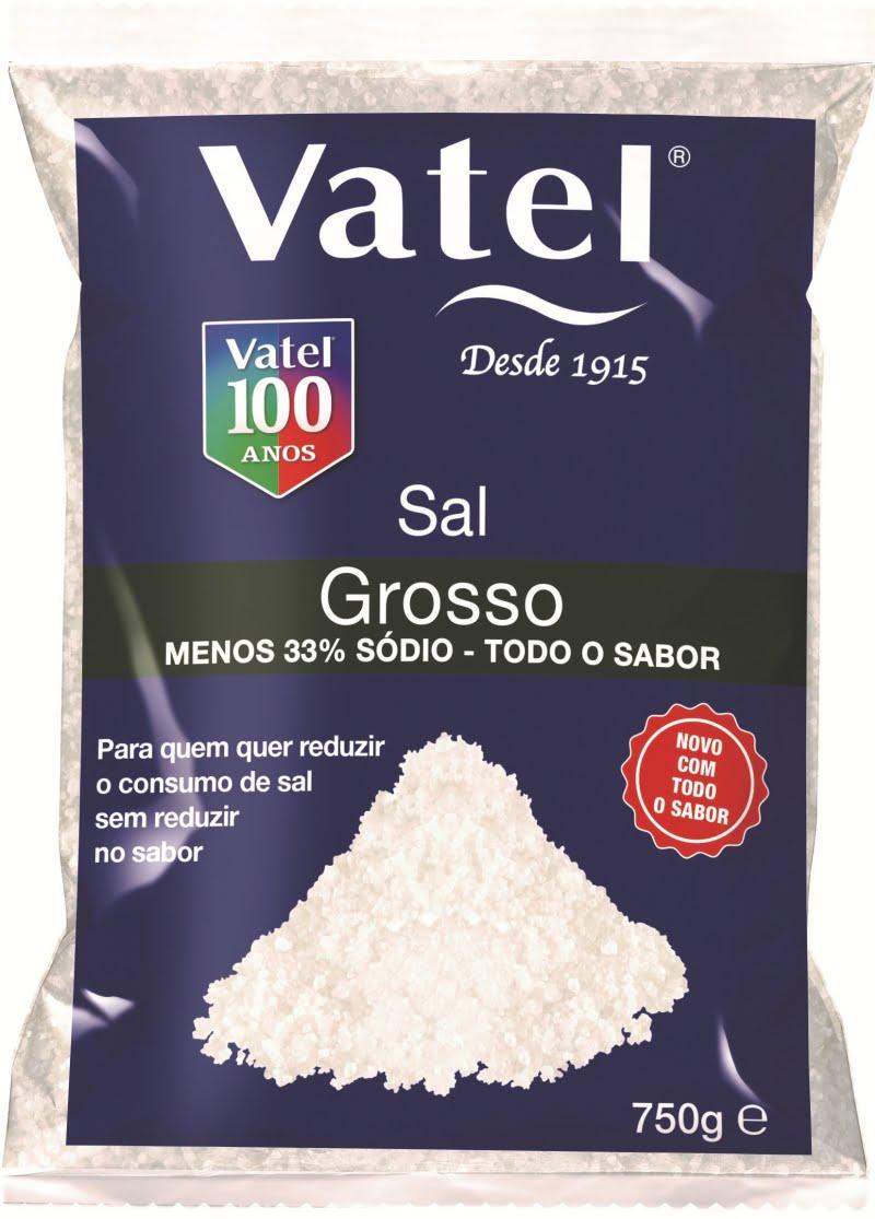 Vatel reduz sódio no sal grosso