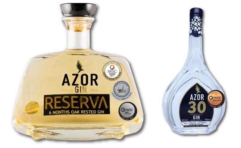 Gins Azor distinguidos a nivel mundial