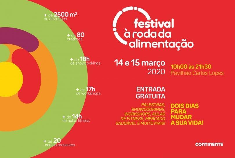 Festival À Roda da Alimentação _ Lançamento e Comunicação