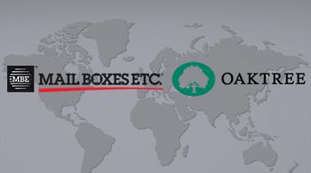 Oaktree adquire participação até 40% na Mail Boxes Etc