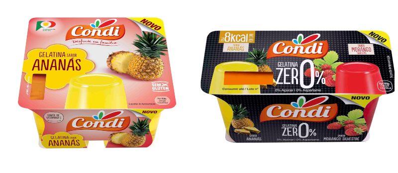 Condi lança gama de gelatinas prontas a comer