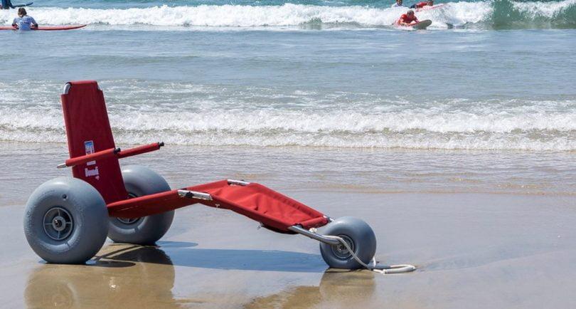 Cadeira anfíbia de surf adaptado vence prémio de Excellent Product Design