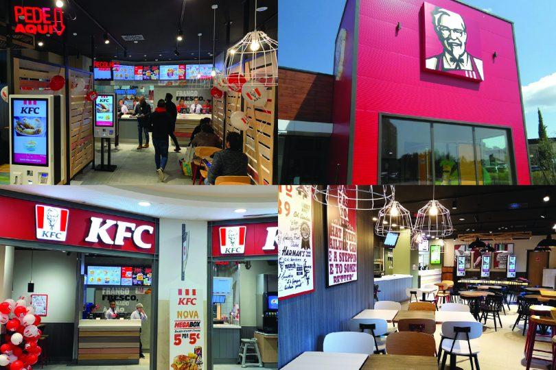 KFC inaugura cinco restaurantes