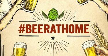 Cervejas artesanais criam iniciativa #BeerAtHome