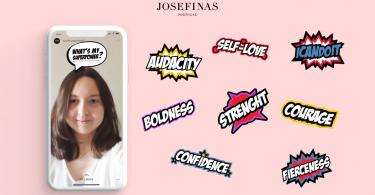 Josefinas lança filtro de Instagram com Realidade Aumentada