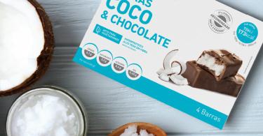 Dieta3passos lança snacks de coco e chocolate