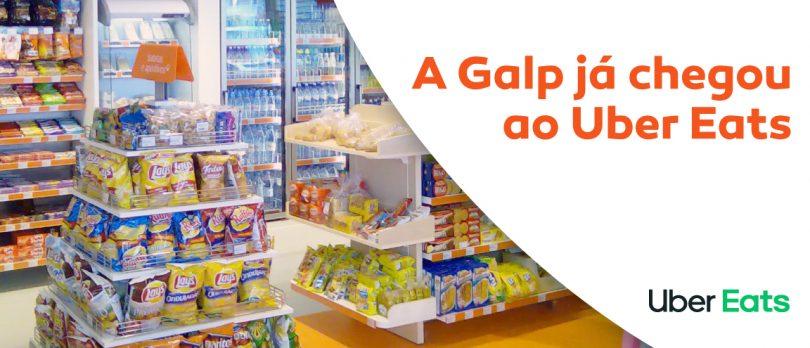 Galp e Uber Eats estabelecem parceria