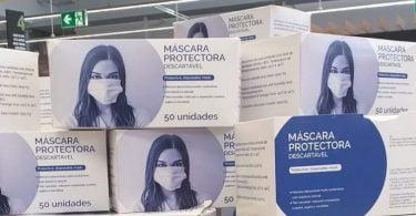 Pingo Doce vende máscaras descartáveis