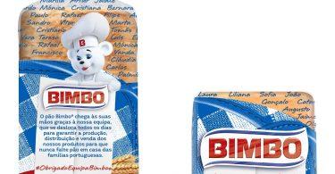 Bimbo agradece aos colaboradores com uma nova embalagem