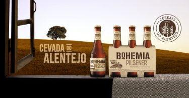 Bohemia apresenta Bohemia Pilsener Cevada do Alentejo