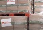 Missão Continente entrega as 150 toneladas de alimentos