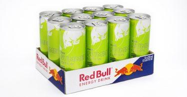Red Bull lança edição limitada com sabor a kiwi e maçã