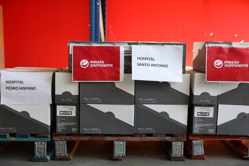 Missão Continente doa cremes reparadores a profissionais de saúde