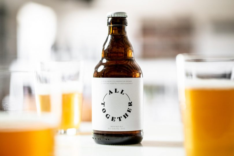 Sovina lança cerveja de apoio à restauração