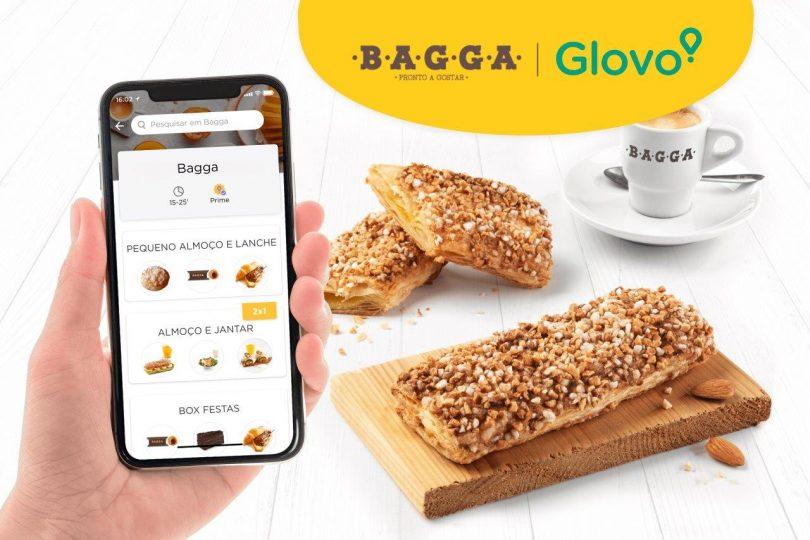 Glovo passa a incluir mais de 20 cafetarias Bagga