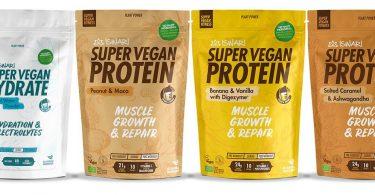 Iswari lança gama de produtos para desporto Super Vegan Fitness