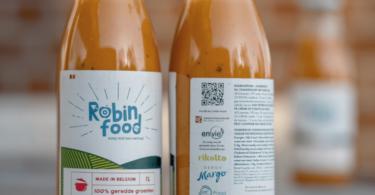enVie Robin Food Soup Bottles OKI Label Printer e