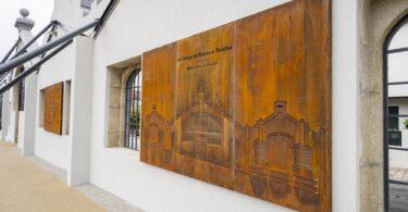 Mercadona Ermesinde - Painéis com a história da fábrica