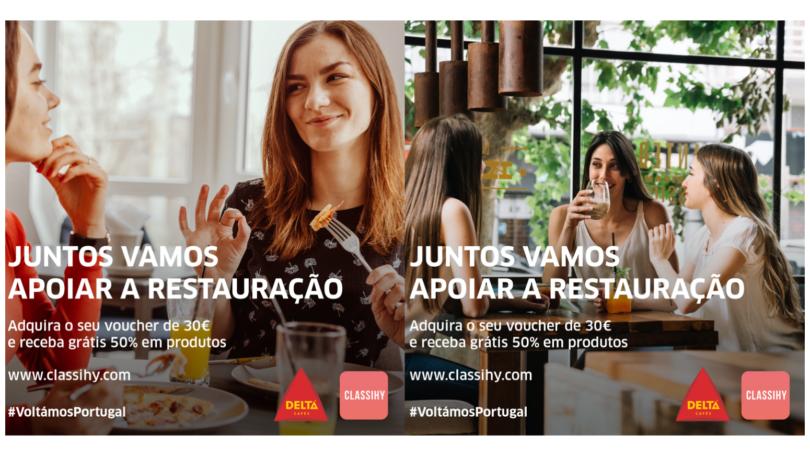 Delta Cafés e Classihy relançam iniciativa de apoio à restauração
