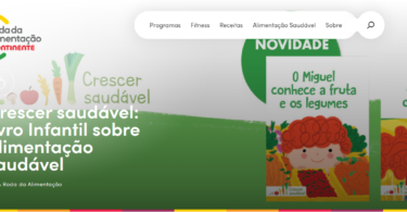 """novo site """"À Roda da Alimentação"""""""