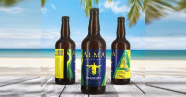 ALMA BRASILEIRA Cerveja artesanal portuguesa