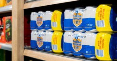 A cadeia de supermercados Mercadona ampliou a sua linha de cervejas, com a Falke Tostada 0,0%, produzida pela Heineken.