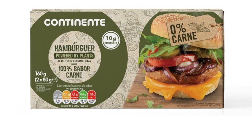 Carne vegetal - Continente